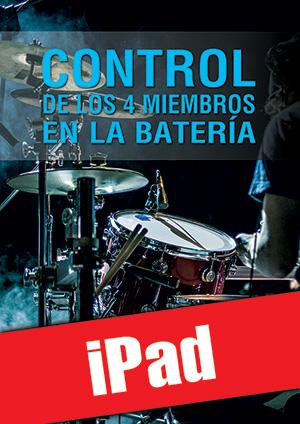 Control de los 4 miembros en la batería (iPad)