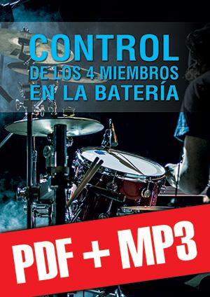Control de los 4 miembros en la batería (pdf + mp3)