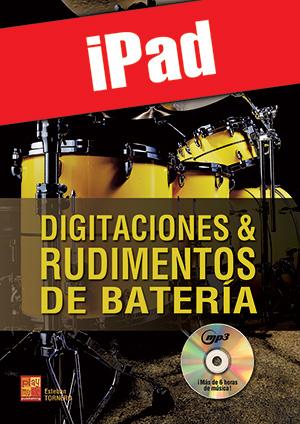 Digitaciones & rudimentos de batería (iPad)