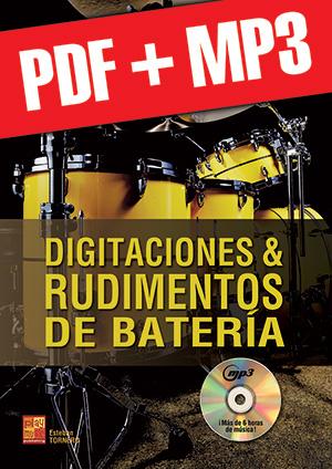 Digitaciones & rudimentos de batería (pdf + mp3)