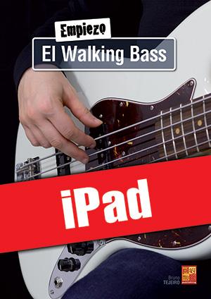 Empiezo el walking bass (iPad)
