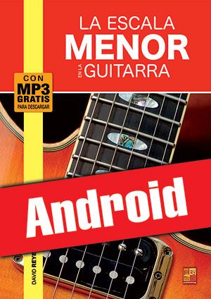 La escala menor en la guitarra (Android)