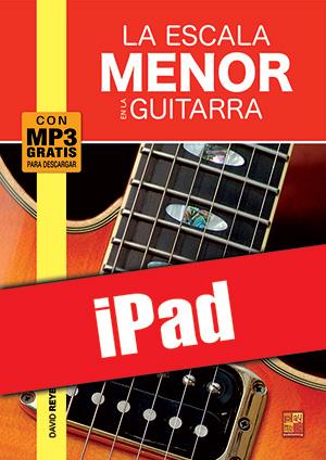 La escala menor en la guitarra (iPad)