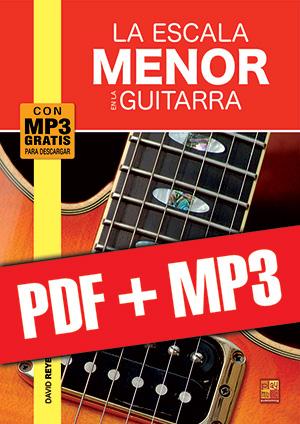 La escala menor en la guitarra (pdf + mp3)