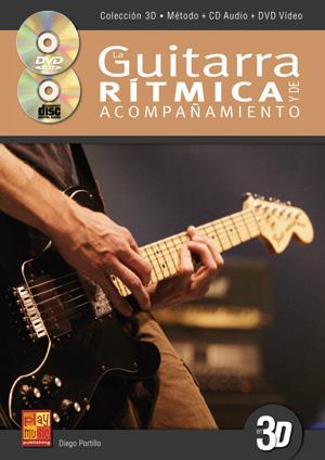 La guitarra rítmica y de acompañamiento en 3D