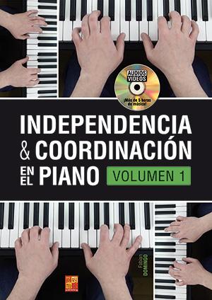 Independencia & coordinación en el piano - Volumen 1
