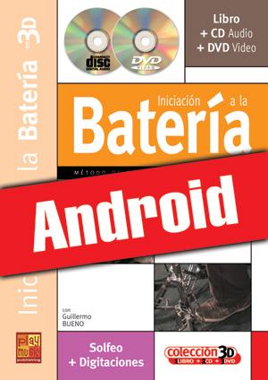 Iniciación a la batería en 3D (Android)