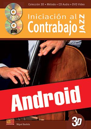 Iniciación al contrabajo jazz en 3D (Android)