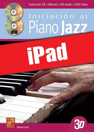 Iniciación al piano jazz en 3D (iPad)
