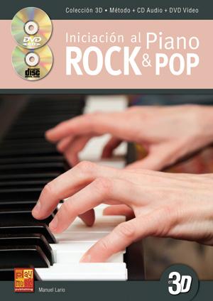 Iniciación al piano rock & pop en 3D