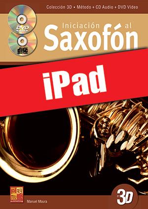 Iniciación al saxofón en 3D (iPad)