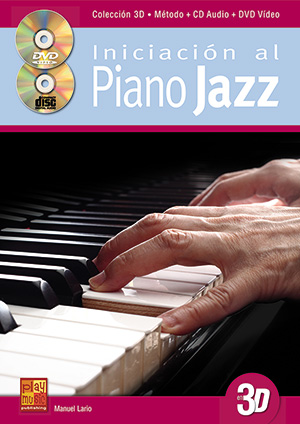 Iniciación al piano jazz en 3D