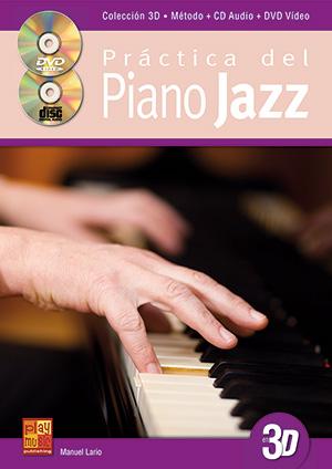 Práctica del piano jazz en 3D