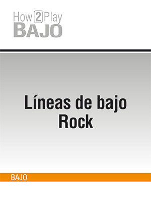 Líneas de bajo Rock