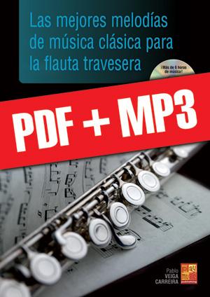 Las mejores melodías de música clásica para la flauta travesera (pdf + mp3)