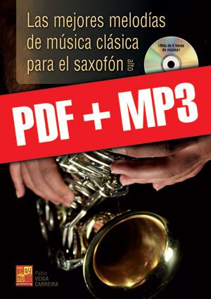 Las mejores melodías de música clásica para el saxofón (pdf + mp3)