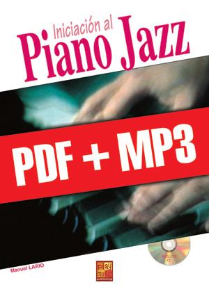 Iniciación al piano jazz (pdf + mp3)