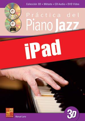 Práctica del piano jazz en 3D (iPad)
