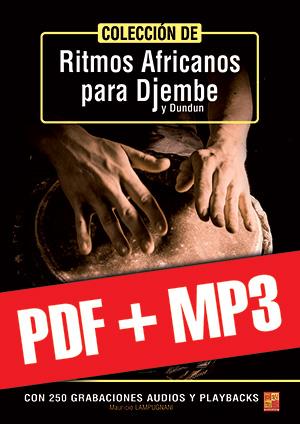 Colección de ritmos africanos para djembe y dundun (pdf + mp3)