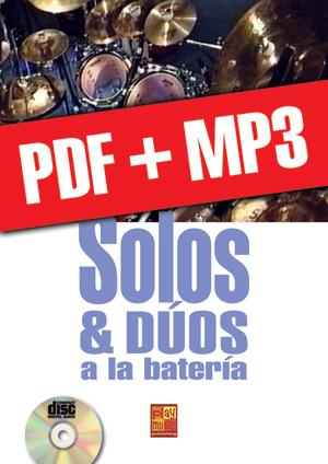 Solos & dúos a la batería (pdf + mp3)