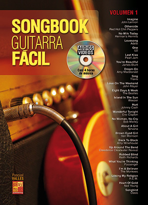 Songbook Guitarra Fácil - Volumen 1