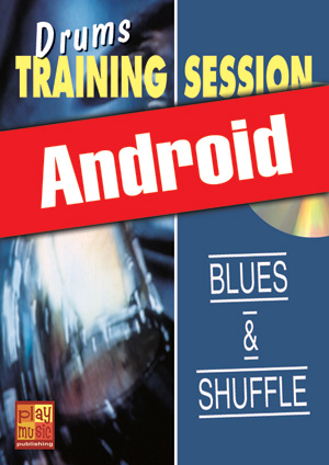 Drums Training Session - Blues & shuffle (Android)
