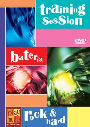 DVD Training Session - Batería rock & hard