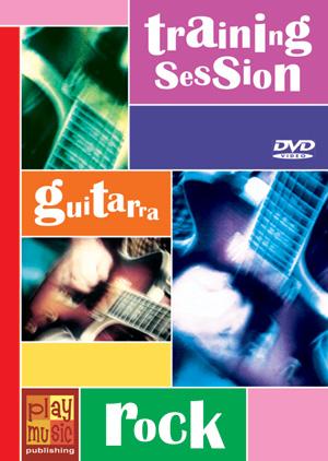 DVD Training Session - Guitarra rock