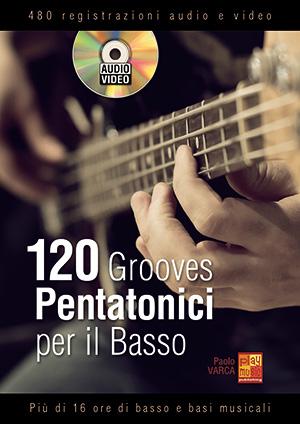 120 grooves pentatonici per il basso
