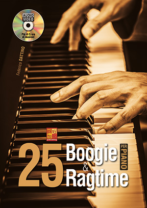 25 boogie & ragtime per pianoforte