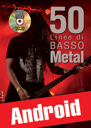 50 linee di basso metal (Android)