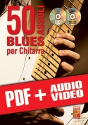 50 assoli blues per chitarra (pdf + mp3 + video)
