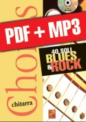 Chorus Chitarra - 40 soli blues & rock (pdf + mp3)
