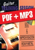 Guitar Training Session - Soli & improvvisazioni heavy-metal (pdf + mp3)