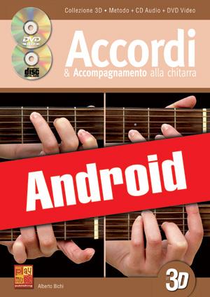 Accordi & accompagnamento alla chitarra in 3D (Android)