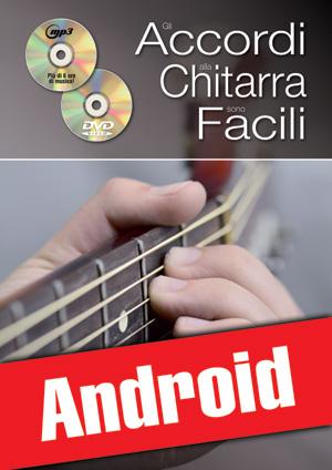 Gli accordi alla chitarra sono facili... con il sistema CAGED (Android)