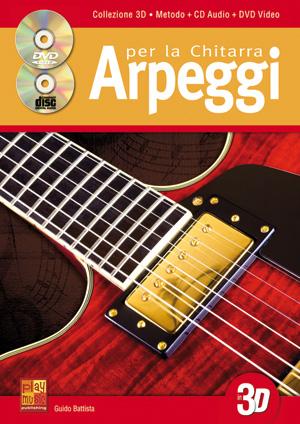 Arpeggi per la chitarra in 3D
