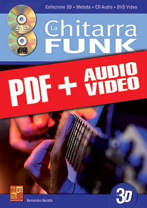 La chitarra funk in 3D (pdf + mp3 + video)