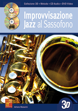 Improvvisazione jazz al sassofono in 3D