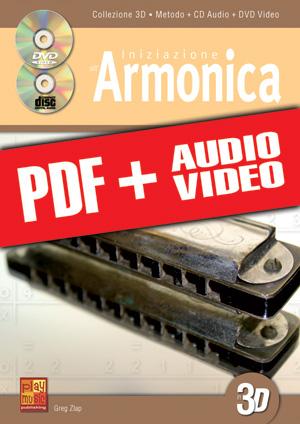 Iniziazione all'armonica in 3D (pdf + mp3 + videos)
