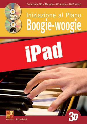 Iniziazione al piano boogie-woogie in 3D (iPad)