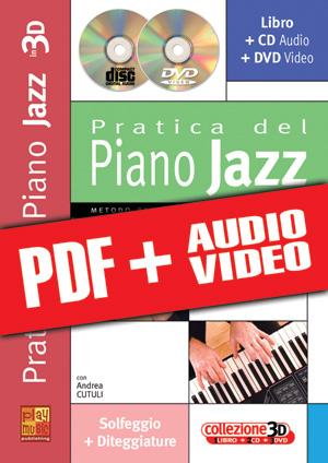 Pratica del piano jazz in 3D (pdf + mp3 + video)