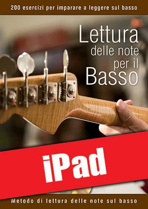 Lettura delle note per il basso (iPad)