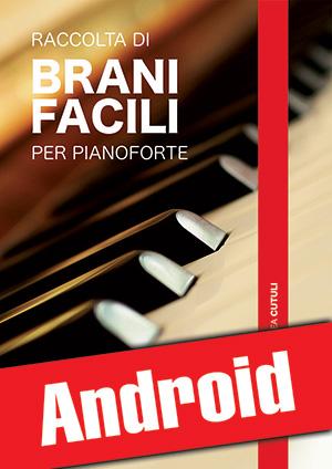 Raccolta di brani facili per pianoforte (Android)