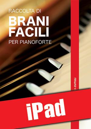 Raccolta di brani facili per pianoforte (iPad)