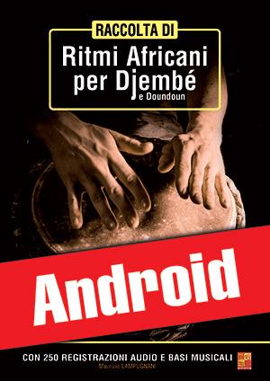 Raccolta di ritmi africani per djembé e doundoun (Android)