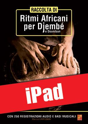 Raccolta di ritmi africani per djembé e doundoun (iPad)