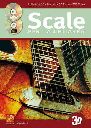 Scale per la chitarra in 3D