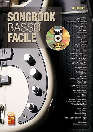 Songbook Basso Facile - Volume 1