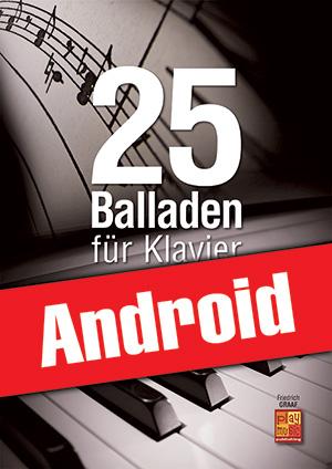 25 Balladen für Klavier (Android)